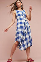 Maeve Belted Gingham Dress
