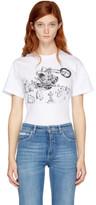McQ White Band Bunny T-shirt