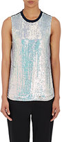 3.1 Phillip Lim Women's Sequin-Embellished Shell-NAVY