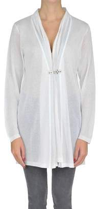 Fay Women's White Viscose Cardigan.