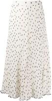 Thumbnail for your product : Ganni Polka Dot Midi Skirt