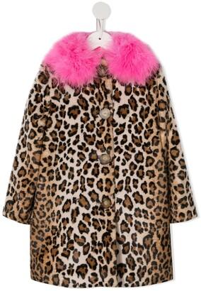 Charabia Faux Fur Coat