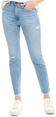 AG Jeans Sophia 18 Years Golden High-Rise Skinny Ankle Cut