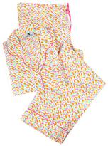 Malabar Bay Pink & Orange Confetti Organic Cotton Pajama Set