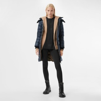 Burberry Detachable Hood Recycled Nylon Puffer Coat