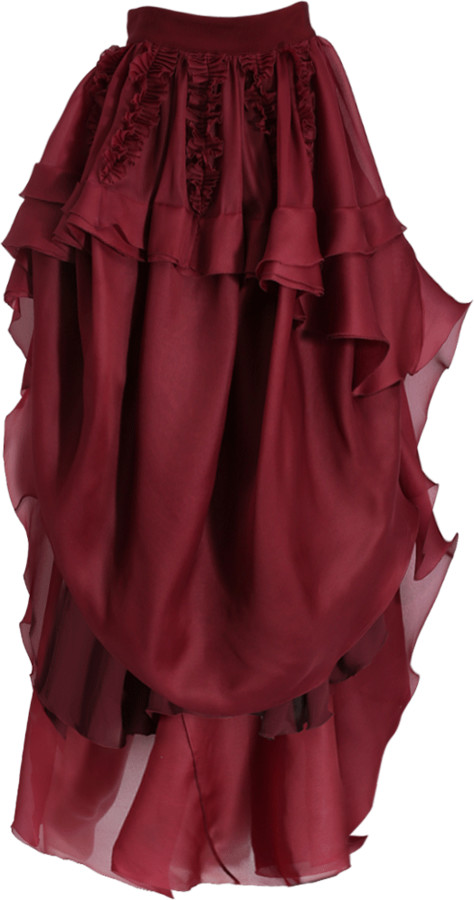 Antonio Berardi Ruffle Front Skirt