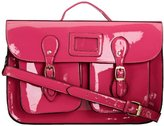 SWANKYSWANS Girls Cara Patent Leather Satchel