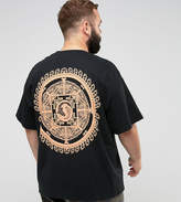 Honour Hnr Ldn Plus Koi Crest Back Print T-Shirt