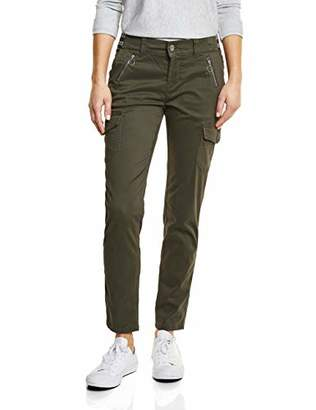 Street One Women's 371941 Jane Trouser, (Deep Blue 11238), (Size: 40)