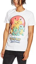 Pokemon Men's Group Ball Short Sleeve T-Shirt