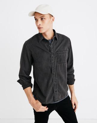 Madewell Denim Button-Down Shirt in Cutler Wash