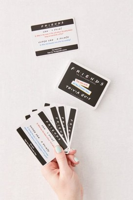 Urban Outfitters Friends Trivia Quiz Card Game