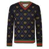 Gucci Argyle Tiger Knit