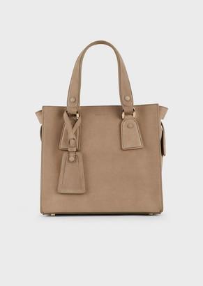 Giorgio Armani Le Sac11 Small Leather Tote Bag