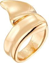 Robert Lee Morris Shiny Gold Bipass Ring