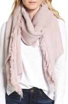 Rebecca Minkoff Women's Garter Stripe Stitch Blanket Scarf