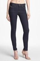 Diesel 'Skinzee' Skinny Stretch Jeans (Dark Denim) Womens Dark Denim Size 28 28