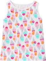 Gymboree Pink & Aqua Ice Cream Swing Tank - Infant & Toddler