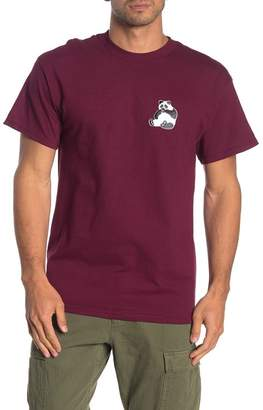 Retrofit Happy Panda Patch Crew T-Shirt