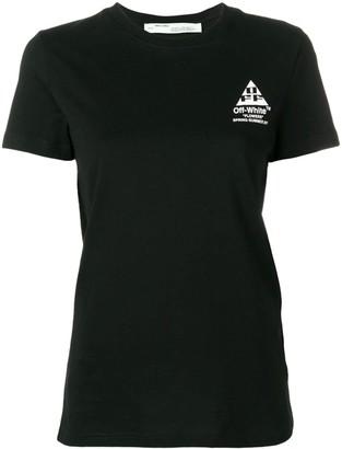 Off-White floral logo print T-shirt