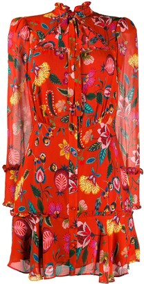 Alexis Morgana ruffle dress