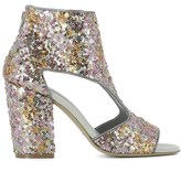 Strategia Women's Multicolor Sequins Heels.