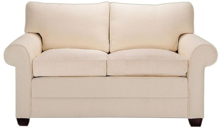 Ethan Allen Bennett Two-Cushion Roll-Arm Sofas and Loveseat