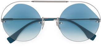 Fendi Eyewear Ribbons & Crystals sunglasses