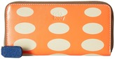 Orla Kiely Oval Printed Big Zip Wallet