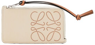 Loewe Leather Anagram Coin Card Holder