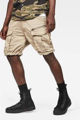 G Star Mens G-Star Beige Rovic Zip Pocket Short - Brown