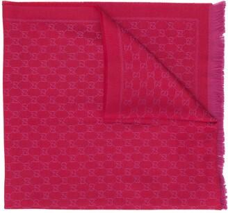 Gucci GG jacquard-knit scarf