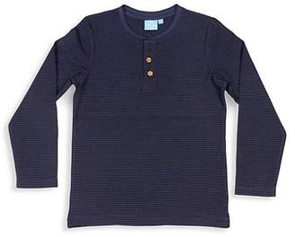 Bear Camp Little Boy's Micro Striped Henley Shirt