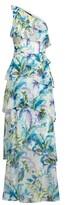 Thumbnail for your product : Lauren Ralph Lauren Ralph Lauren Paisley Ruffle-Trim Georgette Gown