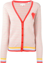 Chinti and Parker cashmere spotted cardigan - women - Cashmere - XS