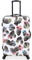 "Jessica Simpson Cactus Printed 25"" Hardside Spinner Suitcase"