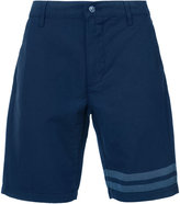 7 For All Mankind striped detail bermuda shorts