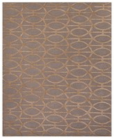 """Jaipur City Area Rug - Tannin/Frosted Almond Spheres, 3'6"""" x 5'6"""""""