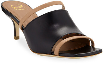 Malone Souliers Laney Two-Tone Slide Sandals