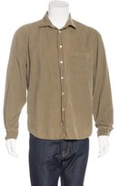 Hartford Corduroy Pocketed Shirt