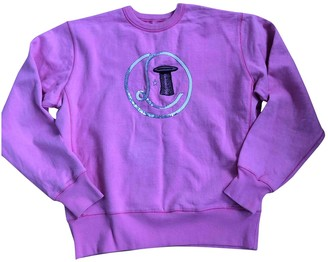 Olympia Le-Tan Olympia Le Tan Pink Cotton Knitwear