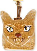 Loewe Cat-face leather charm