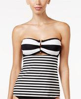 Lauren Ralph Lauren Chic Striped Tankini Top
