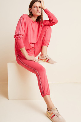 Sundry Stitched Sweatpants By in Red Size XS