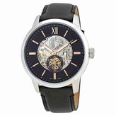 Fossil Townsman Skeleton Dial Automatic Men's Leather Watch ME3153