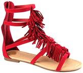 Red Roman Gladiator Sandal