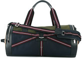Christian Dior three-tone canvas duffle bag - men - Leather/Polyester/Canvas - One Size