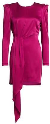 HANEY Sofia Puff-Shoulder Mini Dress