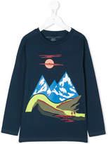 Stella McCartney mountain print top