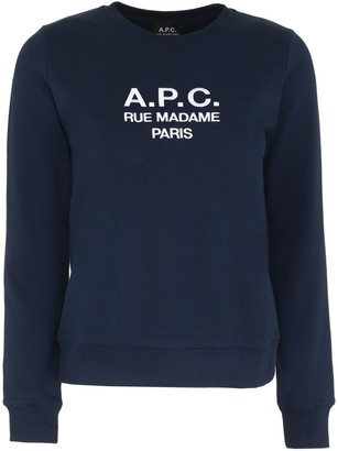 A.P.C. Tina Cotton Crew-neck Sweatshirt